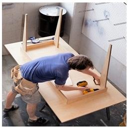 Сборка столов по низким ценам в Электростали от специалистов