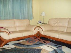 Перетяжка кожаной мебели в Электростали